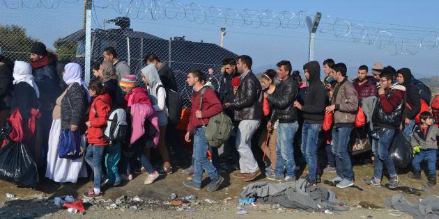 Idomeni ganhou fama internacional ao se transformar em um abrigo esquálido paracerca de 14 mil refugiados.