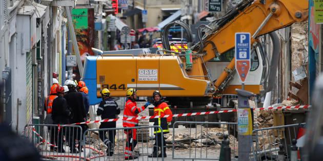 Les secours à l'oeuvre à Marseille le 7 novembre.