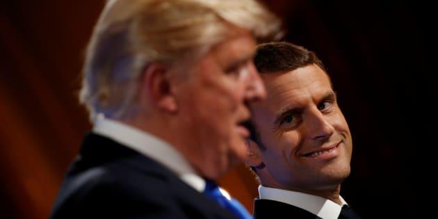 ¿Amigos para siempre? Macron, Trump y una visita llena de situaciones bizarras
