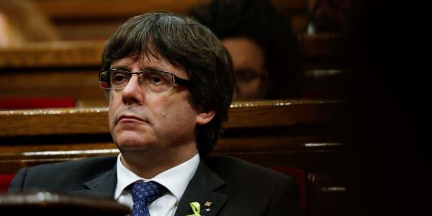 """L'Espagne """"juge ceux qui respectent leurs engagements électoraux"""", pour Puigdemont"""
