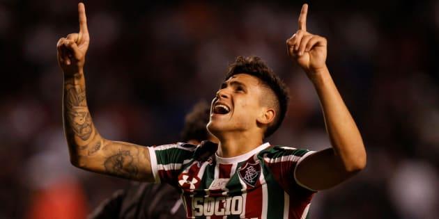 Pedro, do Fluminense, tem brilhado no Campeonato Brasileiro e já foi elogiado por Tite.