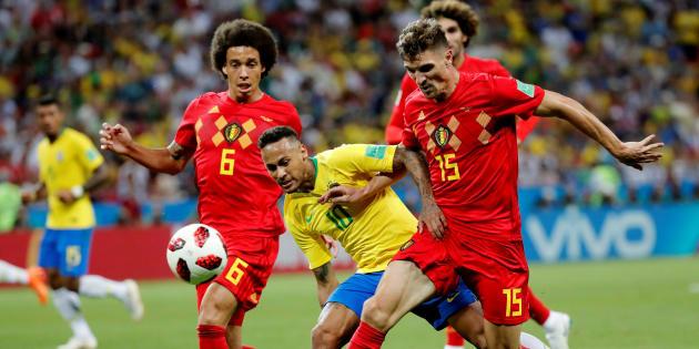La Belgique bat le Brésil et affrontera la France en demi-finale de la Coupe du monde 2018