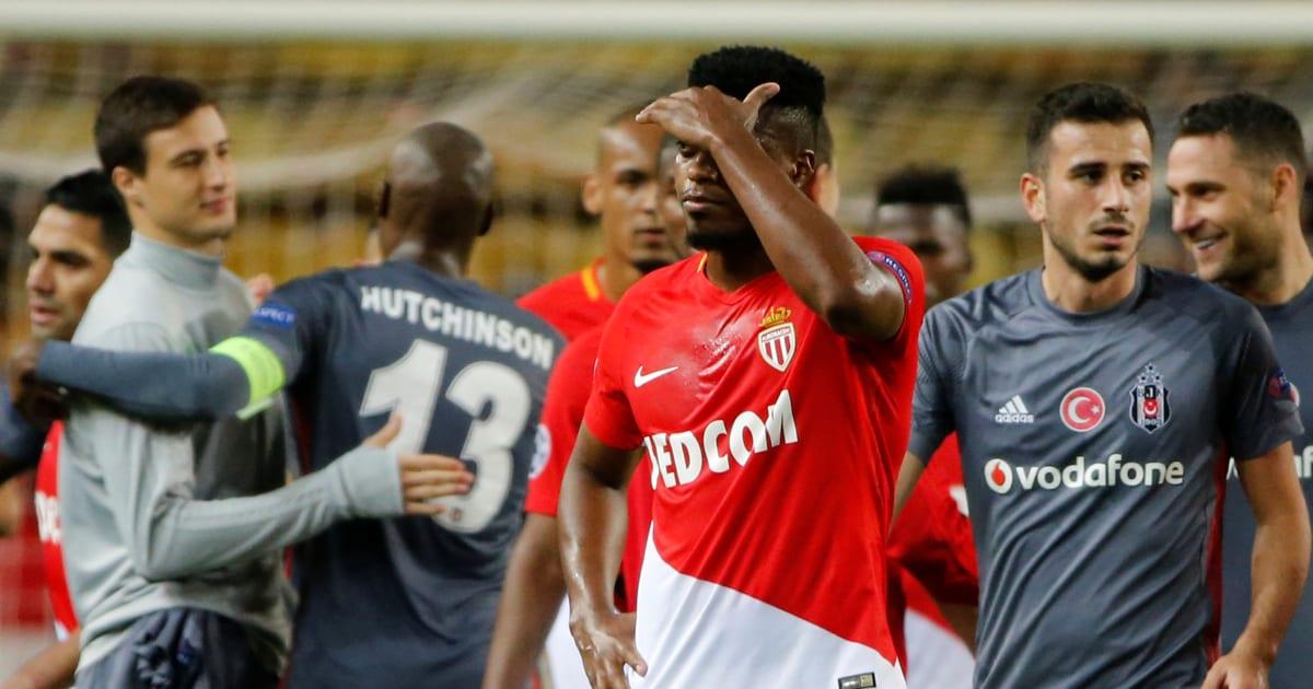 Besiktas l'emporte sur Monaco qui peut maintenant se préparer à dire adieu à la Ligue des champions