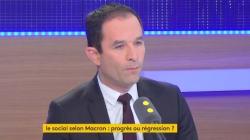 Hamon veut affronter Macron à la primaire du PS