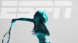 Después de Serena Williams, también Caroline Wozniacki, tenista ex número uno mundial, posa