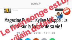 Kylian Mbappé dément à son tour les rumeurs sur sa liaison avec Miss France