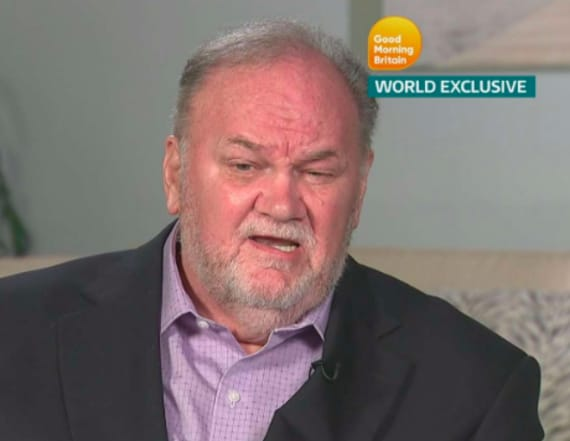 Thomas Markle: Harry told me to give Trump a chance