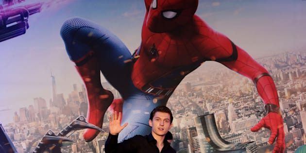 Tom Holland attends the 'Spider-Man: Homecoming' press conference at Conrad Seoul Hotel on July 3, 2017 in Seoul, South Korea.  (Photo by Chung Sung-Jun/Getty Images)