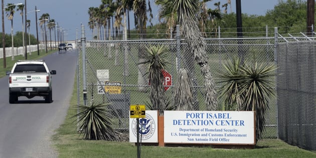 In this June 26, 2018, file photo, a U.S. Border Patrol truck enters the Port Isabel Detention Center, which holds detainees of the U.S. Immigration and Customs Enforcement, in Los Fresnos, Texas.