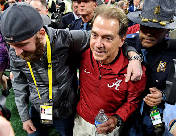 Nick Saban comments on the idea of retirement