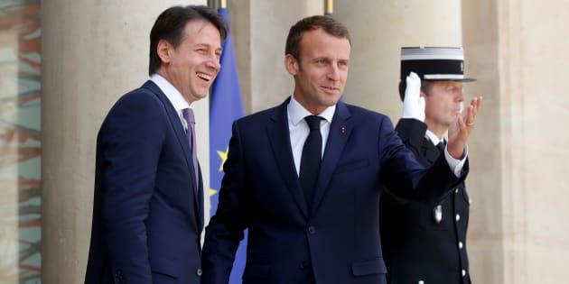 Après la crise de l'Aquarius, Emmanuel Macron et Giuseppe Conte actent leur réconciliation