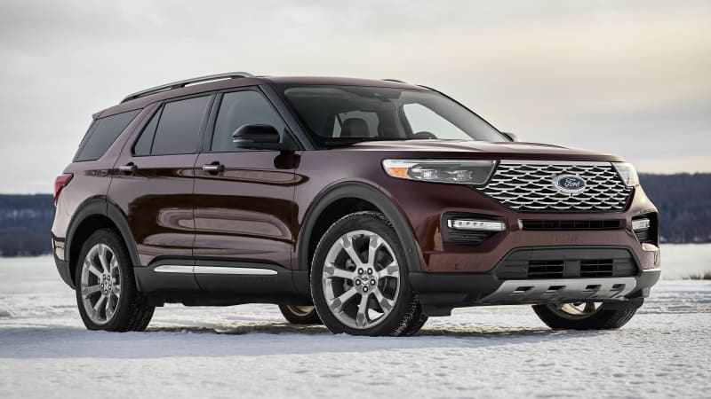 2019 Ford Explorer: Redesign, New Platform, Engines >> New Ford Explorer Suv Debuts Ahead Of Detroit Auto Show Autoblog