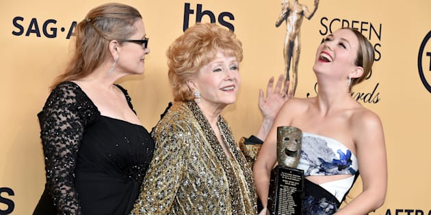 Three generations of women on the silver screen.