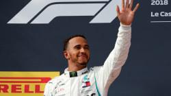 Lewis Hamilton remporte le Grand Prix de