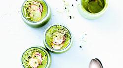 4 recettes de soupes fraîches pour les beaux