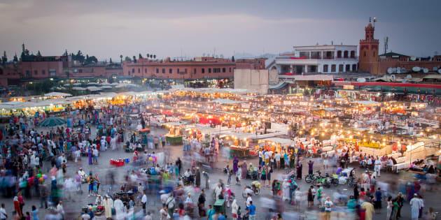 Vue aérienne à Marrakech (photo d'illustration).