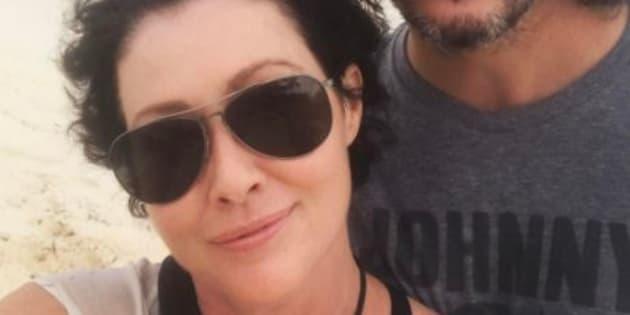 Shannen Doherty: la ricrescita dei capelli dopo la guarigione