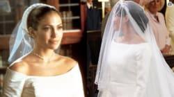La robe de mariée de Meghan Markle ressemble à un modèle que portait Jennifer