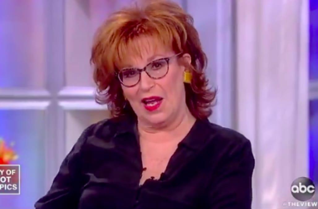 Joy Behar bites back at Kid Rock for calling her a 'b--ch