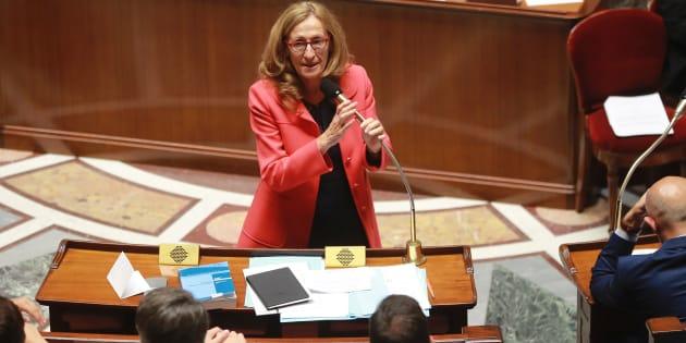 La ministre de la Justice Nicole Belloubet à l'Assemblée nationale le 26 juillet.