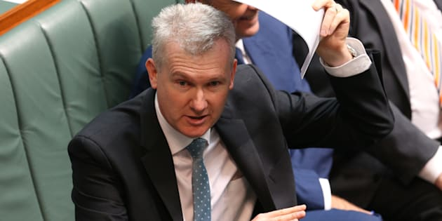 Tony Burke says Labor unanimously agreed to oppose the citizenship changes.