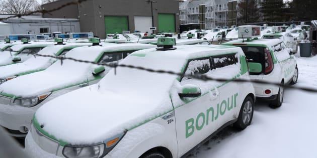Téo proposait un nouveau modèle d'affaires où les risques financiers ne sont plus supportés par les chauffeurs, mais bien par l'entreprise.