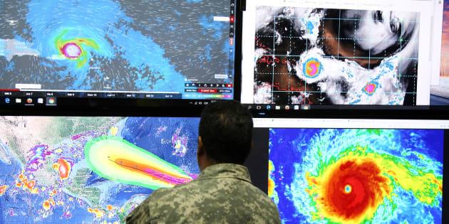 Ouragans Harvey, Irma...  la faute au réchauffement climatique ? C'est plus compliqué