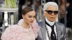 Lily-Rose Depp, mariée éblouissante de la maison Chanel pour la Fashion Week de