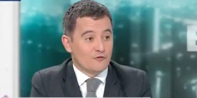 """Gérald Darmanin impressionné par """"la motivation et la franchise"""" de son """"ami"""" Nicolas Sarkozy."""