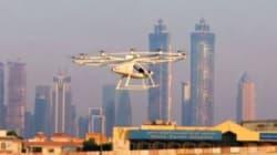 A Dubai è stato testato il primo drone taxi senza