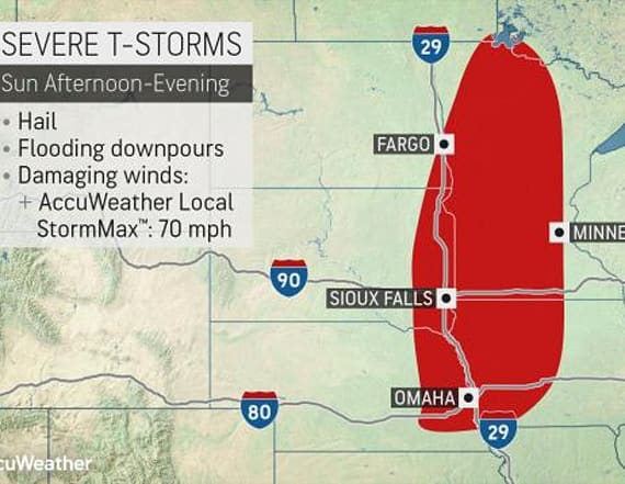 Severe threat to ramp up across Midwest