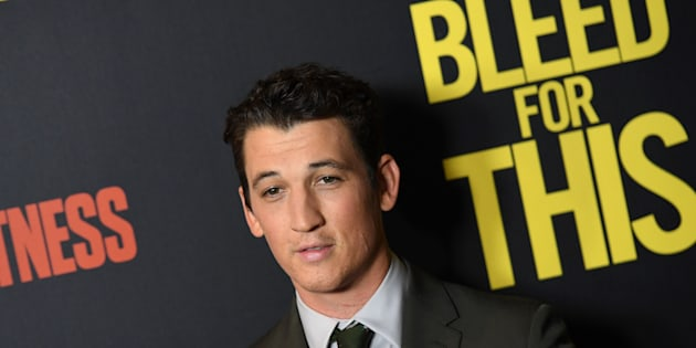 Actor Miles Teller attends Open Road's New York premiere of 'Bleed For This' at AMC Lincoln Square on November 14, 2016 in New York City. / AFP / ANGELA WEISS        (Photo credit should read ANGELA WEISS/AFP/Getty Images)