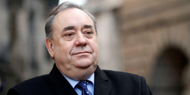 Alex Salmond, retratado en Edimburgo el pasado 8 de enero.