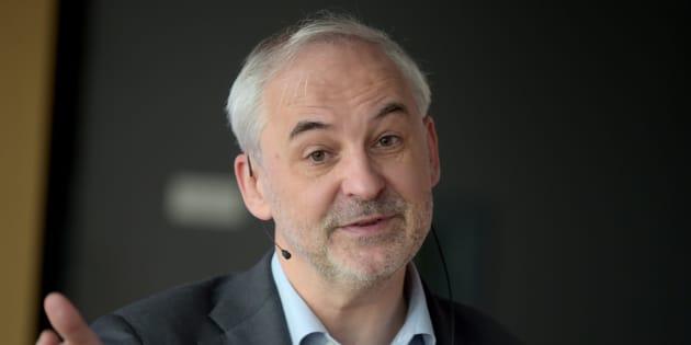 François Pérol à Paris le 29 novembre 2017.