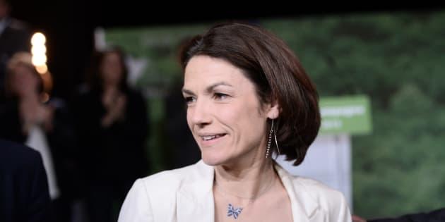 Chantal Jouanno à Issy-les-Moulineaux le 7 avril 2015.