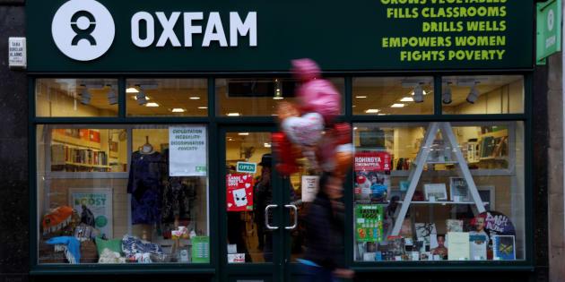 Una tienda de Oxfam en el Reino Unido.