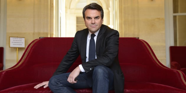 """Thomas Thévenoud (ici photographié à l'Assemblée nationale en avril 2016) a déposé la marque """"phobie administrative""""."""