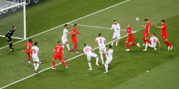 Tunisie-Angleterre à la Coupe du monde 2018: le résumé et les buts en vidéo, avec un doublé de Harry Kane qui fait plier les Tunisiens