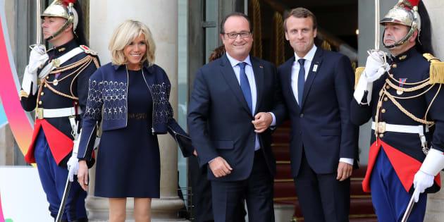 François Hollande remporte le prix de l'humour politique 2017