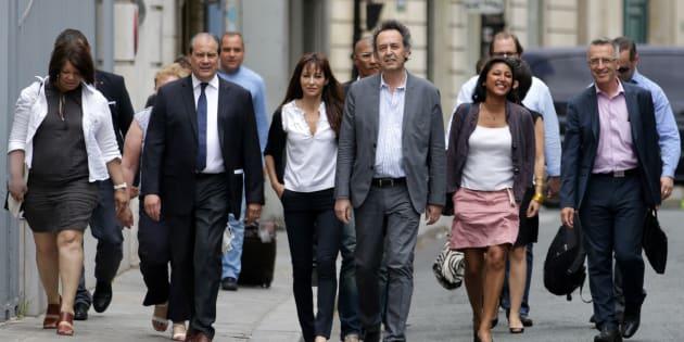 """Le PS s'est réuni à la Maison de la Chimie pour trancher """"clairement"""" sa ligne vis-à-vis du gouvernement."""
