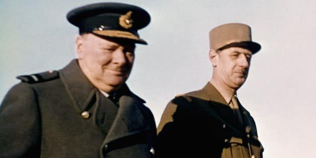 74 ans après le Débarquement, cette pièce nous fait revivre l'incroyable face à face entre Churchill et De Gaulle.