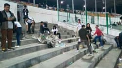 This Picture Of Fans Cleaning The Stadium After Aizawl's Historic I-League Win Is Going Viral For All The Right