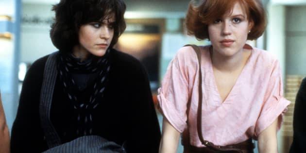 Ally Sheedy et Molly Ringwald dans une scène du film «The Breakfast Club», en 1985.
