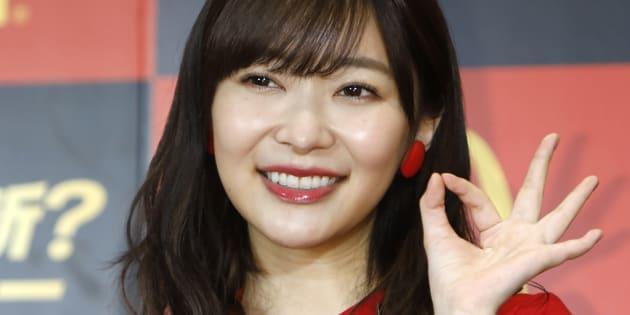 HKT48の指原莉乃さん