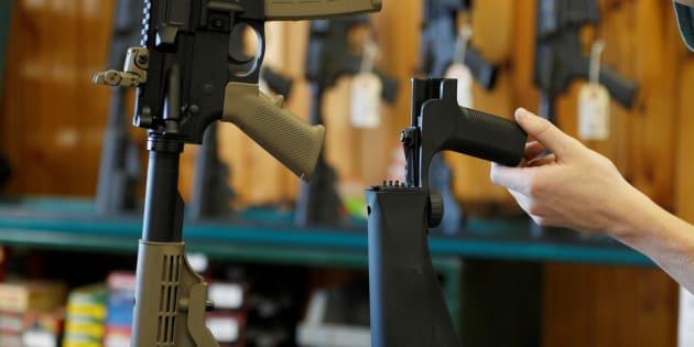 Las Vegas: Le premier pas très symbolique du lobby des armes américain sur la régulation