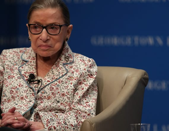 Ruth Bader Ginsburg underwent treatment for tumor