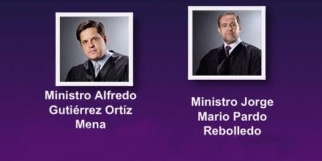 Cuatro ministros van por la presidencia de la Suprema Corte.