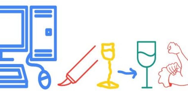 La rédaction du HuffPost a testé AutoDraw, l'intelligence artificielle de Google qui nous aide à dessiner.