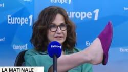 Valerie Lemercier (encore) en pyjama chez Europe