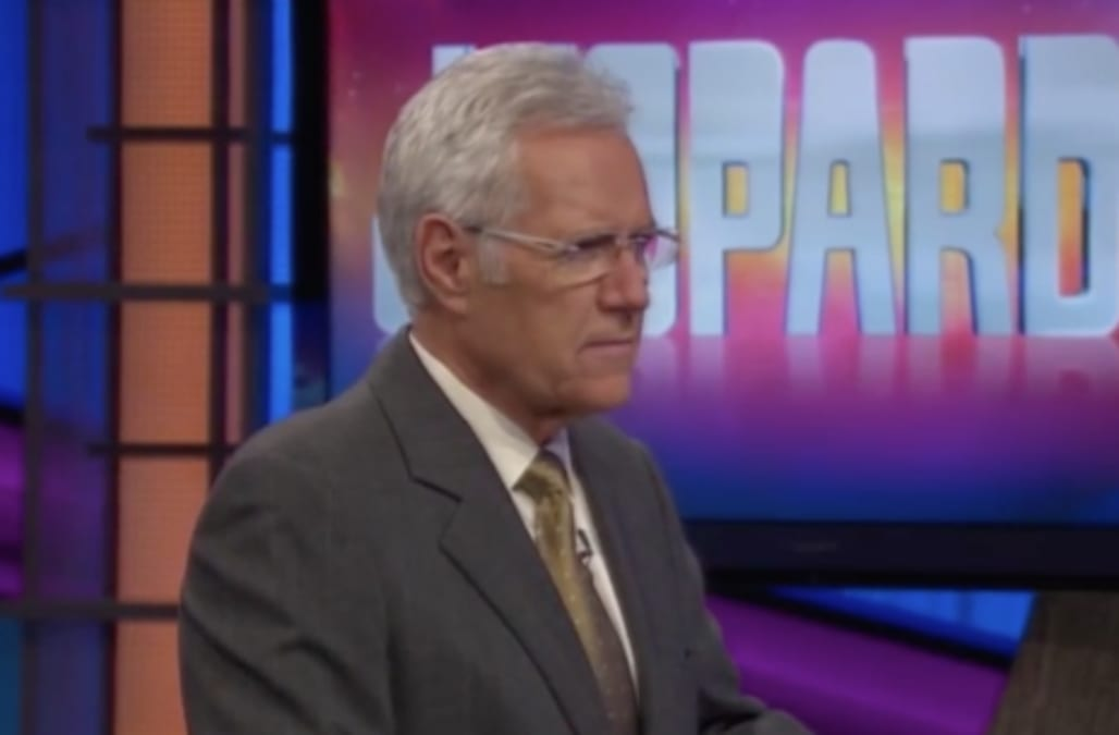 Alex Trebek slammed for 'sexist' comment to female 'Jeopardy
